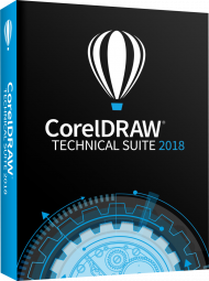 CorelDRAW Technical Suite 2018 - Upgrade (Download), Best.Nr. COO366, € 399,00