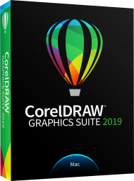 CorelDRAW Graphics Suite 2019 Edu CTL Mac, Best.Nr. COO399, € 99,95