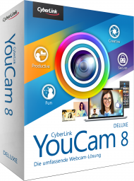 CyberLink YouCam 8 Deluxe für Windows, Best.Nr. CY-301, € 34,95