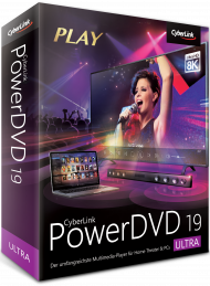 CyberLink PowerDVD 19 Ultra Upgrade, Best.Nr. CY-303, € 39,95