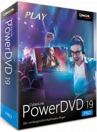 CyberLink PowerDVD 19 Pro für Windows, Best.Nr. CY-304, € 64,95