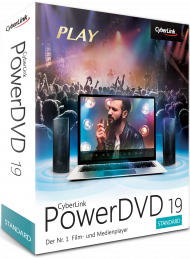 CyberLink PowerDVD 19 Standard für Windows, Best.Nr. CY-305, € 39,95