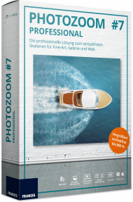 FRANZIS PHOTOZOOM 7 Professional (Download), Best.Nr. FRO-0986, € 99,95
