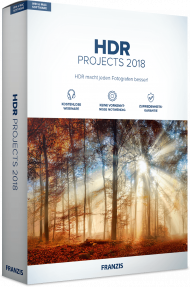 FRANZIS HDR PROJECTS 2018 (Download), Best.Nr. FRO-1090, € 39,95