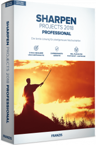 FRANZIS SHARPEN PROJECTS 2018 Professional (Download), Best.Nr. FRO-1137, € 69,95