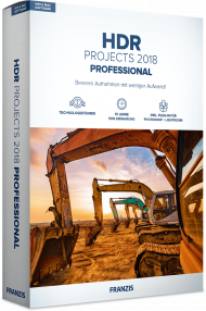 FRANZIS HDR PROJECTS 2018 Professional (Download), Best.Nr. FRO-1155, € 69,95