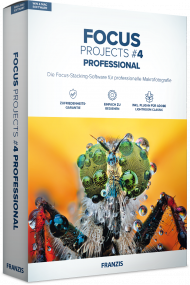 FRANZIS FOCUS PROJECTS 4 Professional (Download), Best.Nr. FRO-1187, € 69,95