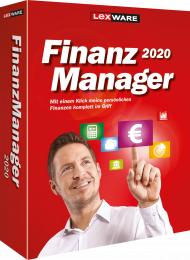 Lexware FinanzManager 2020 (Download), Best.Nr. LXO6058, € 44,95