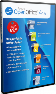 Apache OpenOffice 4.1.6, Best.Nr. MT-80668, € 9,99