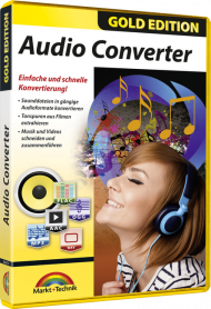 Audio Converter - Gold Edition, Best.Nr. MT-806791, € 18,95