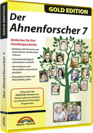 Der Ahnenforscher 7 - Gold Edition, Best.Nr. MT-80683, € 17,95