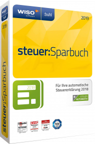 WISO steuer:Sparbuch 2019, Best.Nr. SO-2746, € 29,95