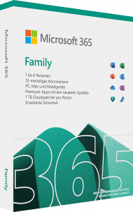 Microsoft Office 365 Home - Key Card, Best.Nr. SO-3113, € 86,70