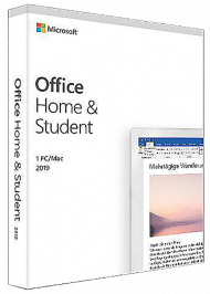 MS Office Home and Student 2019 für Windows/Mac, ESD, Best.Nr. SOO3175, € 134,90